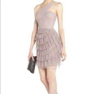 Bcbgmaxazria Ella One Shoulder Dress